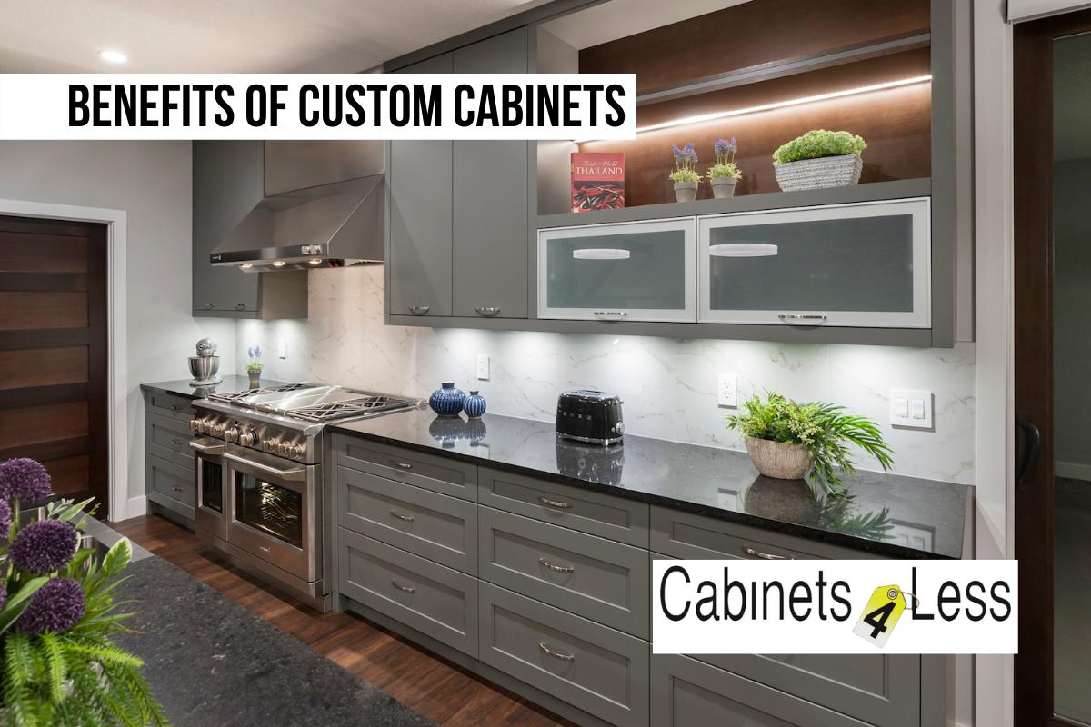 Benefits of Custom Cabinets