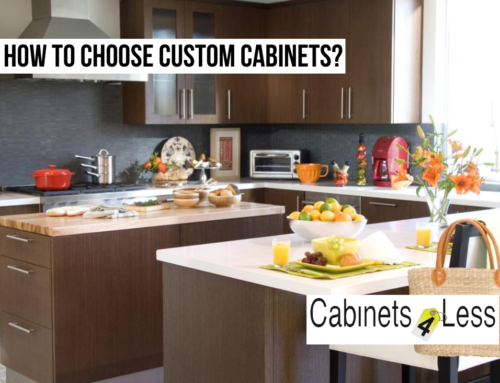 How to Choose Custom Cabinets?