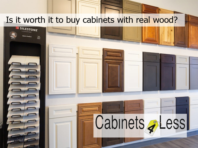 Is it worth it to buy cabinets with real wood