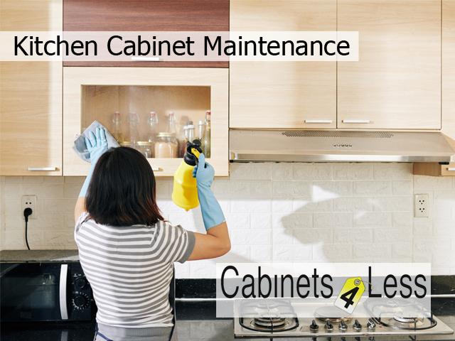 Kitchen Cabinet Maintenance