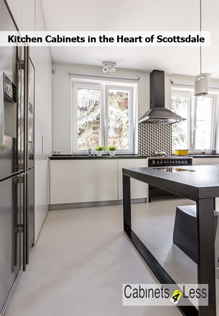 Kitchen Cabinets in the Heart of Scottsdale