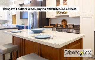 Things to Look for When Buying New Kitchen Cabinets