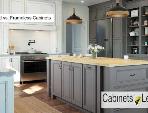 Framed vs. Frameless Cabinets
