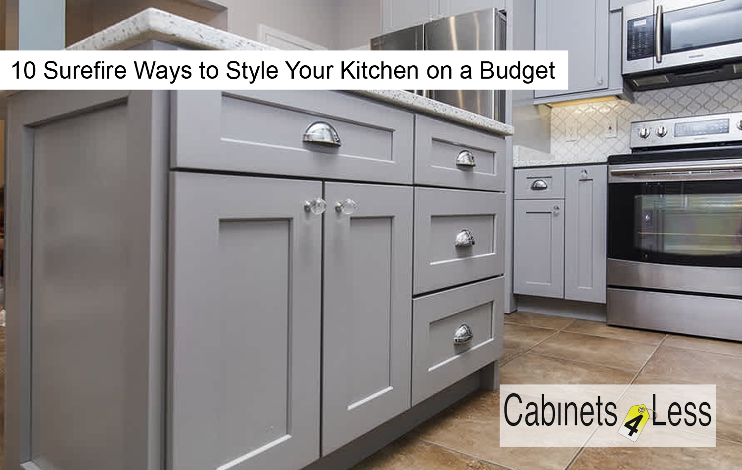 10 Surefire Ways to Style Your Kitchen on a Budget