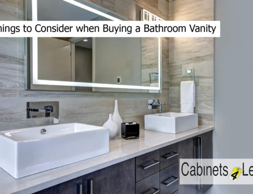 10 Things to Consider when Buying a Bathroom Vanity